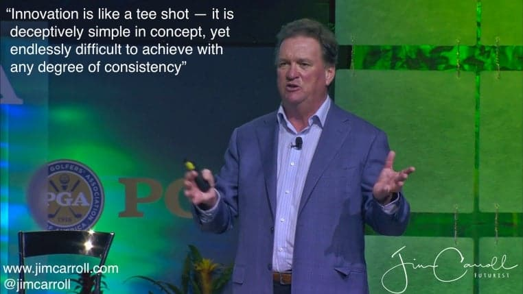 Keynote: PGA Merchandise Show, Orlando - Growing Golf & Sports Through Technology and Leading Edge Innovations