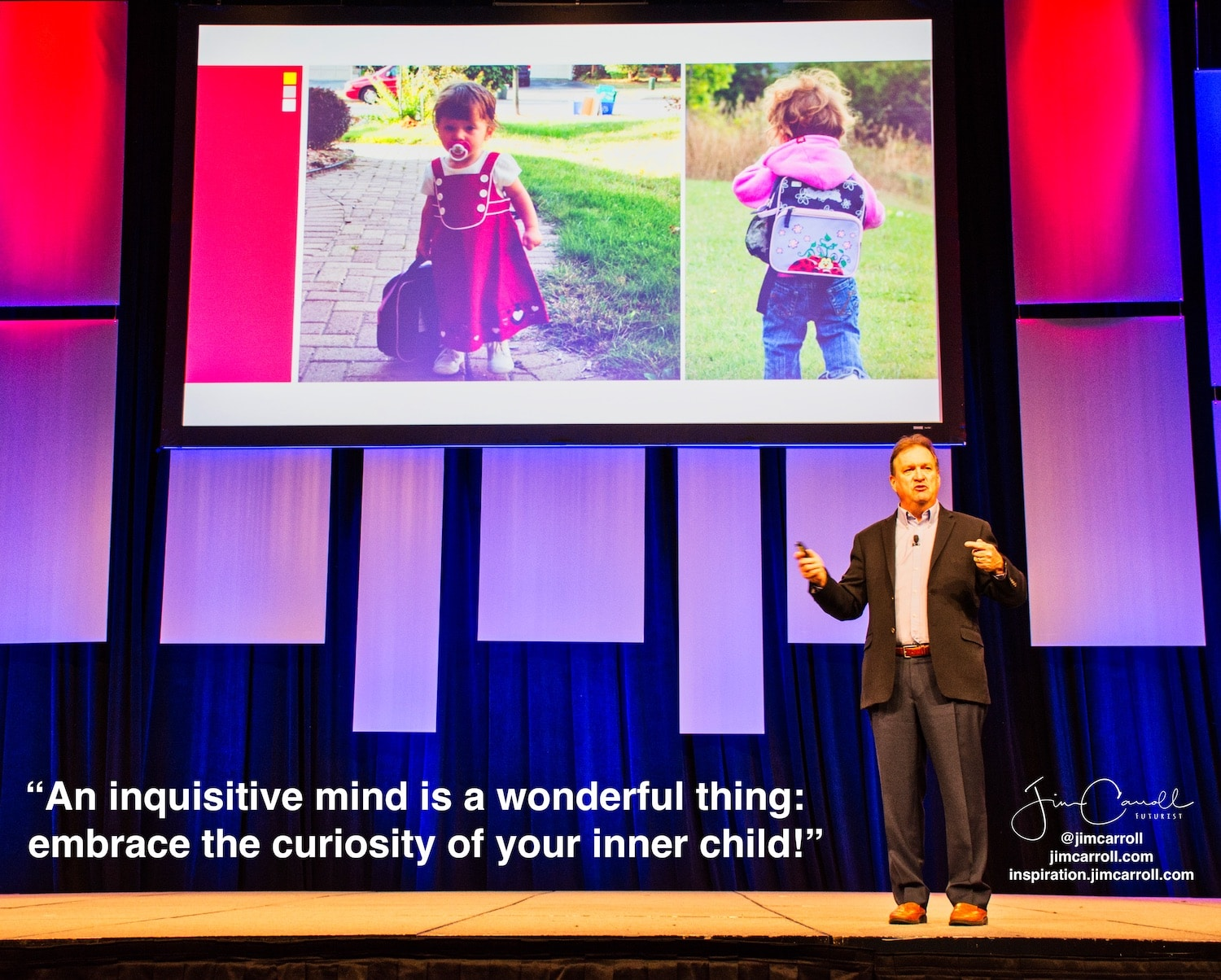 "Daily Inspiration: ""An inquisitive mind is a wonderful thing: embrace the curiosity of your inner child!"""