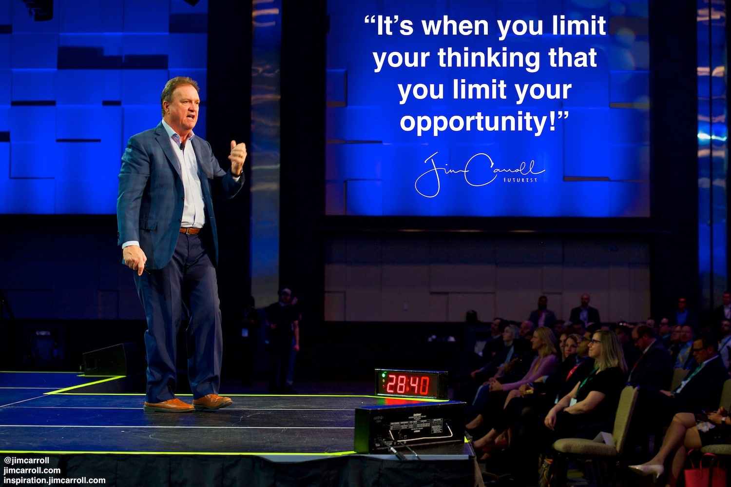 "Daily Inspiration: ""It's when you limit your thinking that you limit your opportunity!"""