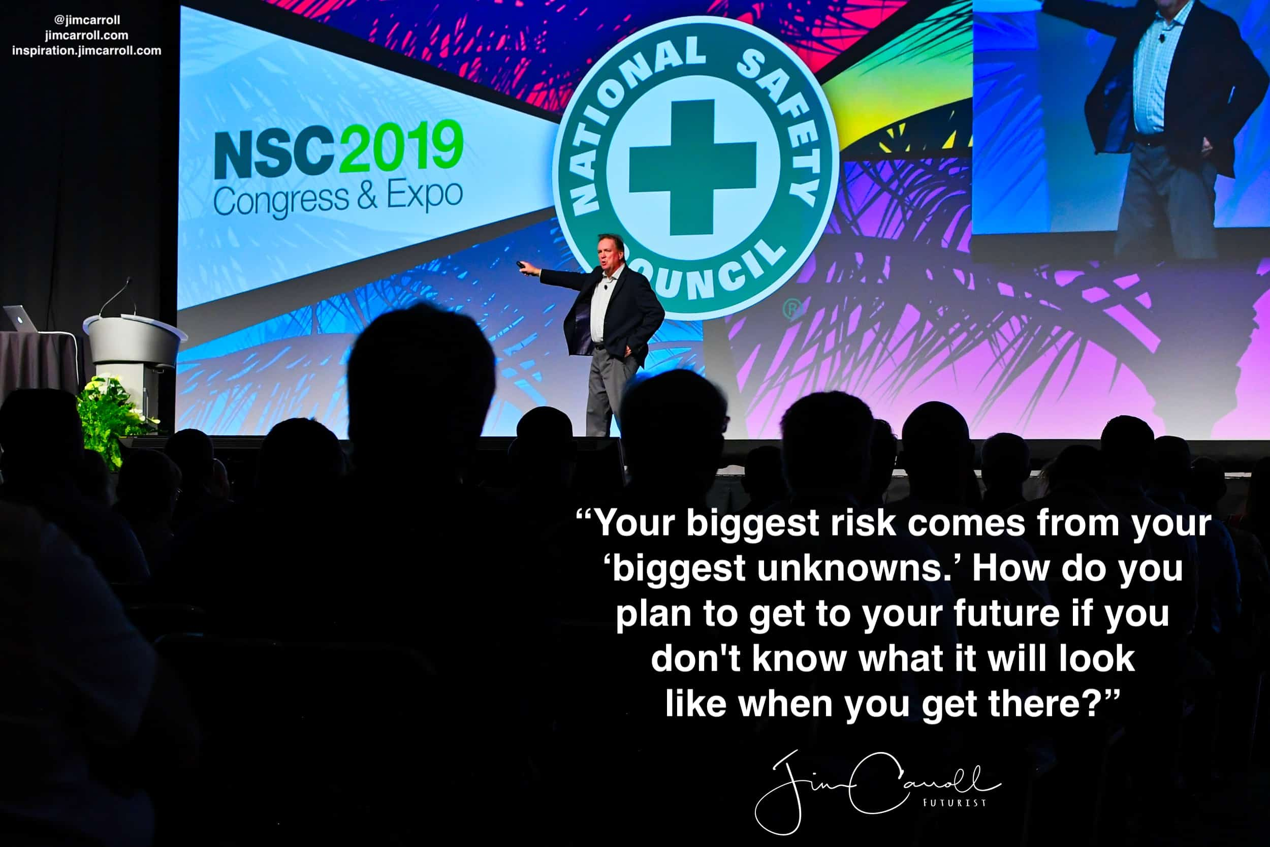 "Daily Inspiration: """"Your biggest risk comes from your 'biggest unknowns.'"""