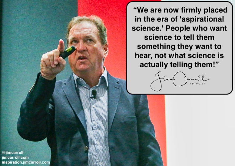"Daily Inspiration: ""We are now firmly placed in the era of 'aspirational science....'"""