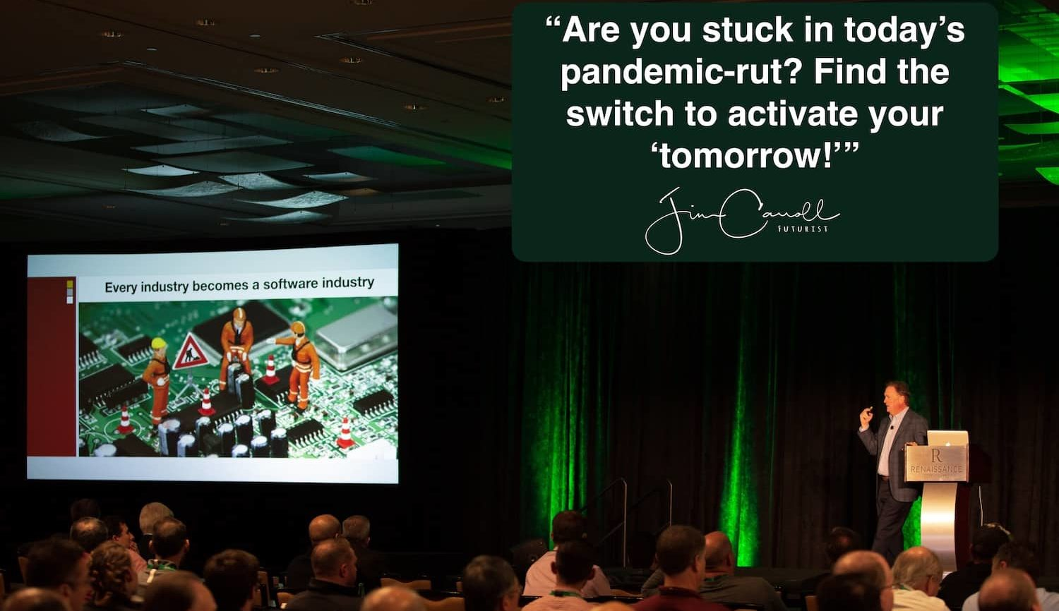 "Daily Inspiration: ""Are you stuck in today's pandemic-rut? Find the switch to activate your 'tomorrow!'"""
