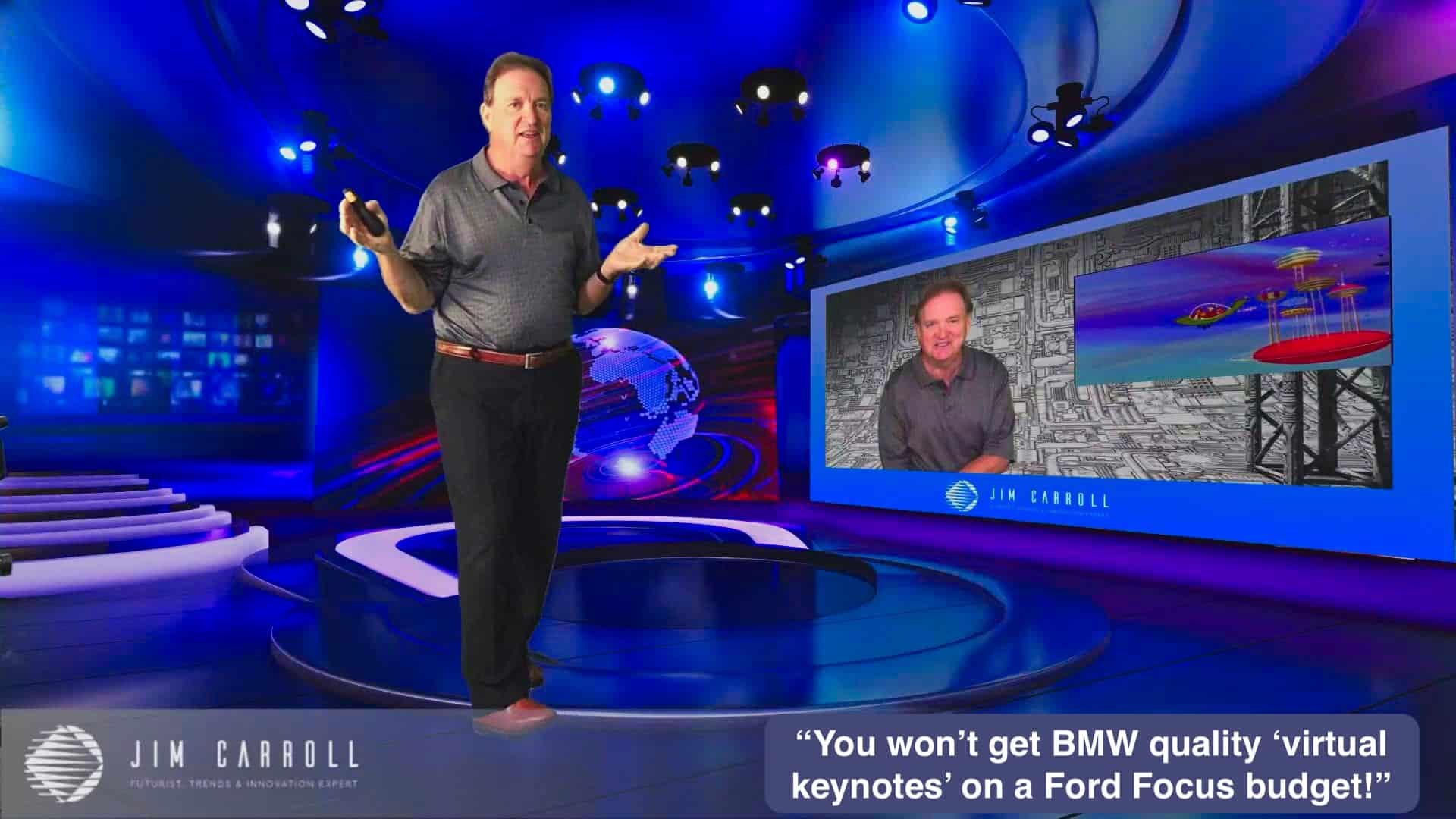 "Daily Inspiration: ""You won't get BMW quality 'virtual keynotes' on a Ford Focus budget!"""