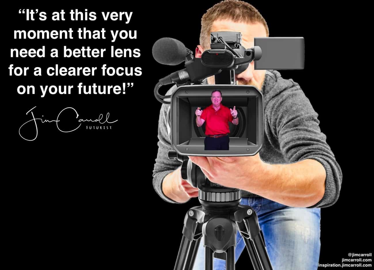 "Daily Inspiration: ""It's at this very moment that you need a better lens for a clearer focus on your future!"""